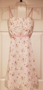 Ruby Rox Light Pink/White Floral Dress